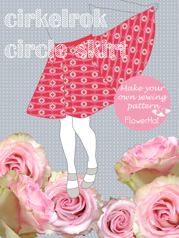 sewing pattern circle skirt by FlowerHat
