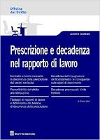 Prescrizione e decadenza nel rapporto di lavoro