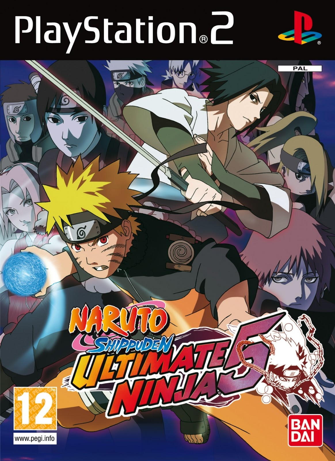 Ultimate Ninja 5 - Naruto Shippuden Ultimate Ninja 5.iso PS2