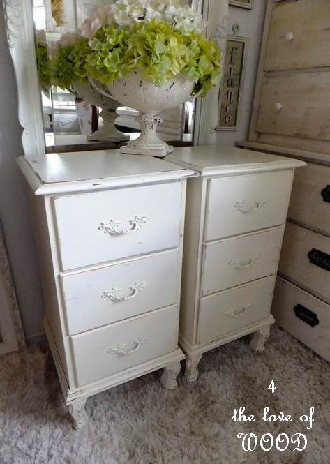 4 The Love Of Wood Two English Nightstands Made From A Desk