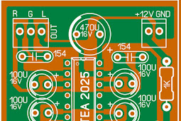 portable headphone amplifier PCB Layout