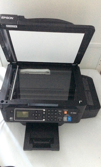 scanner part of printer