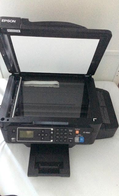 scanner part of printer