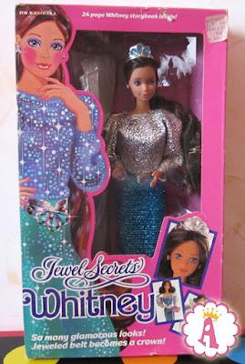 Новая кукла Уитни (барби) в коробке. Серия Barbie Jewel Secrets Whitney 1986