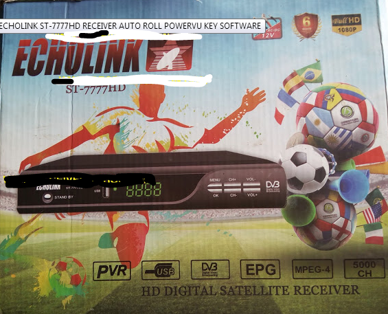 Echolink ST -7777 HD Software Auto Roll PowerV Software