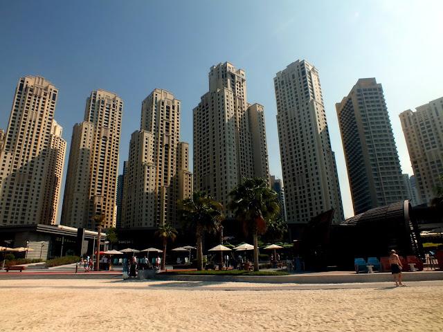 día de playa en Dubai