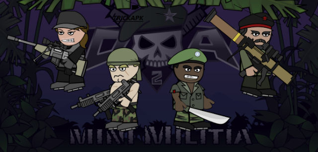 Mini Militia Mod / Hacked Apk Latest Version Download 2017
