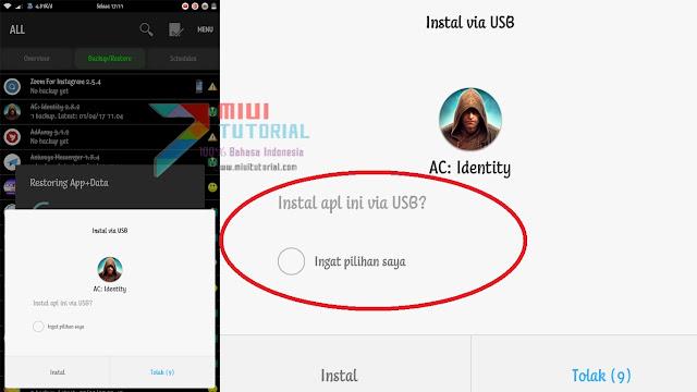 Selalu Muncul Menu Pop-up Perizinan Install via USB di Smartphone Xiaomi Kamu? ini Cara Permanen Menghilangkannya