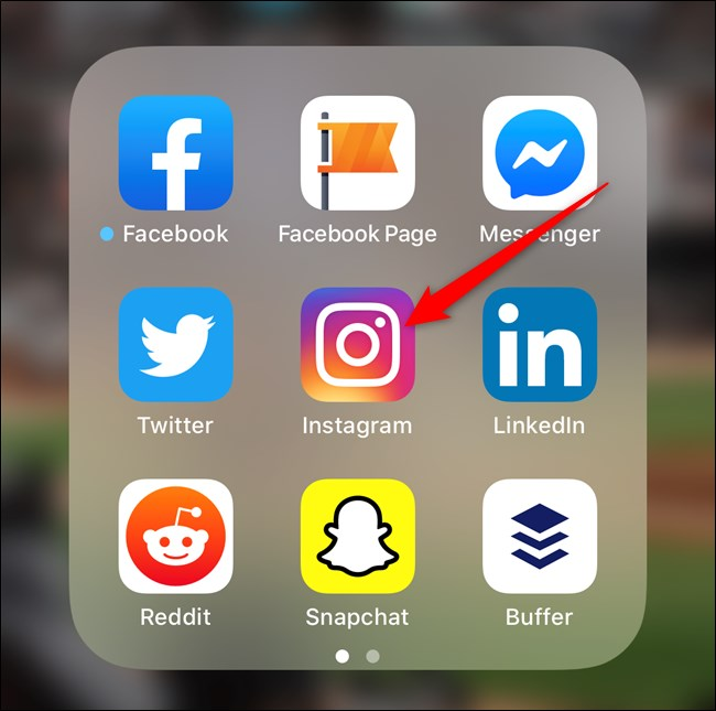 Più mostrati nei feed Instagram