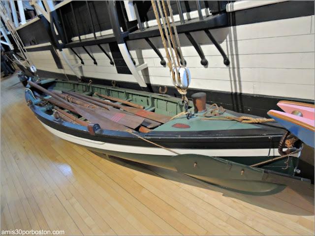 Barco Ballenero en el Museo de las Ballenas de New Bedford