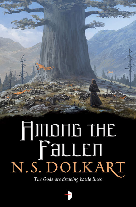Silent Hall and Among the Fallen (Godserfs 1 and 2) by N.S. Dolkart