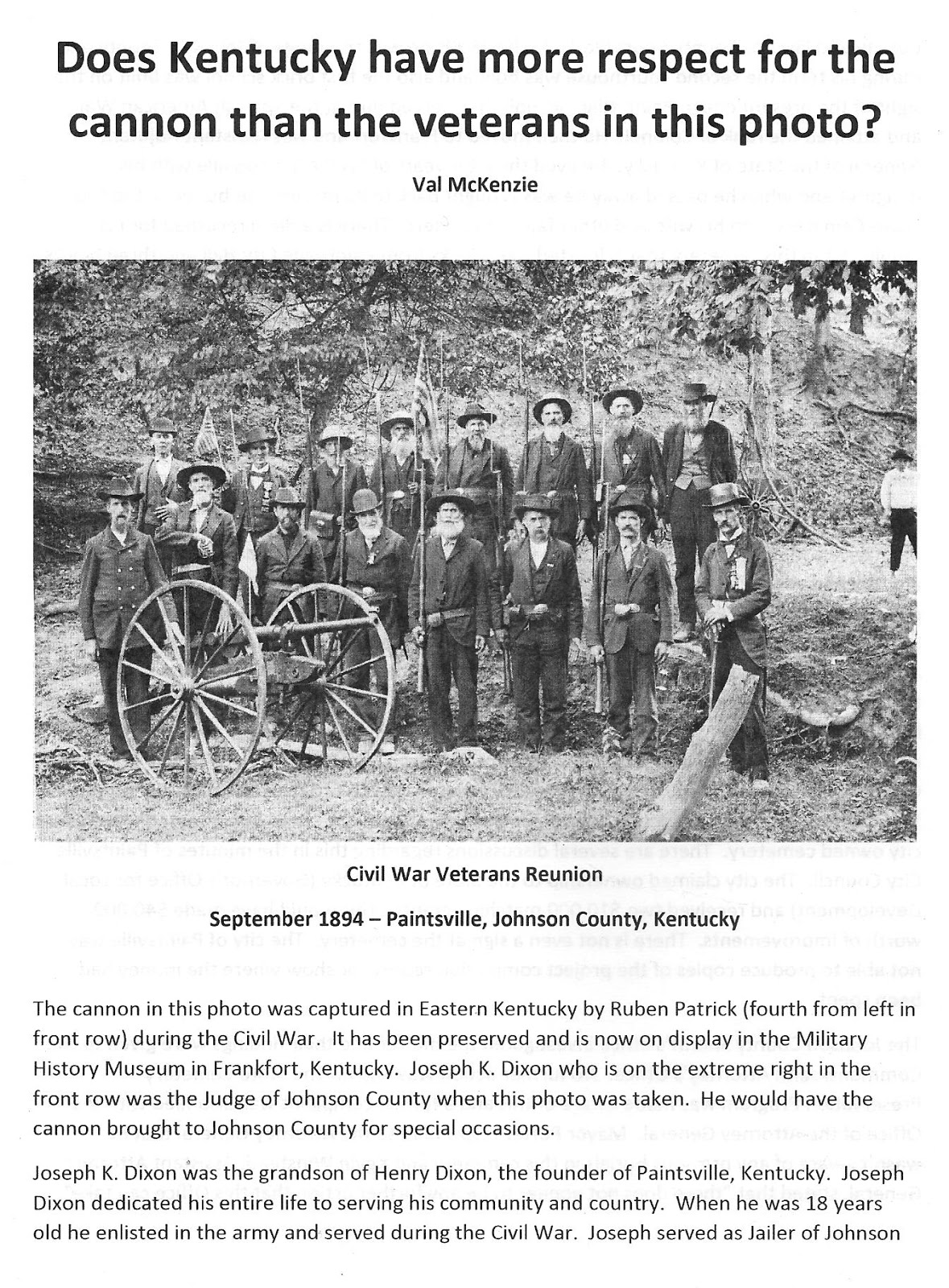 Eastern Kentucky And The Civil War