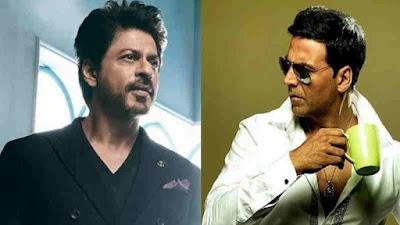 शाहरुख खान और अक्षय कुमार की बॉक्स ऑफिस पर होगी भिड़ंत