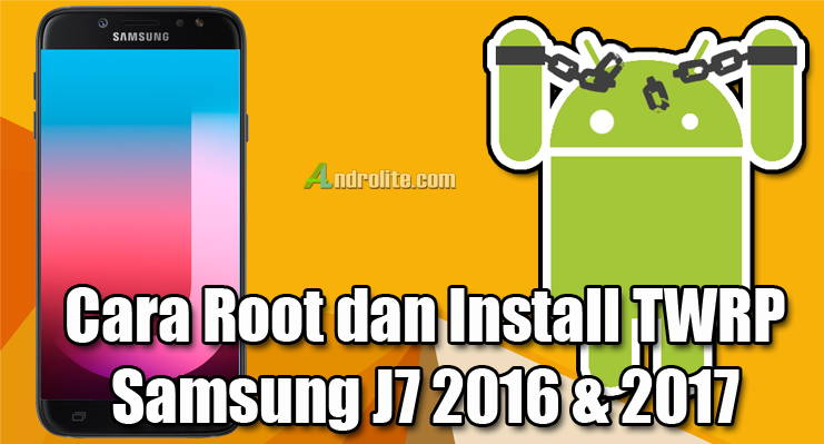 Cara Root Samsung J7