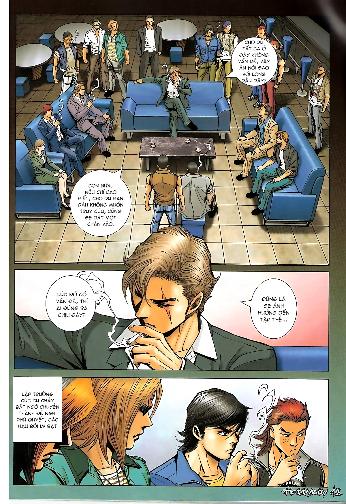 Người Trong Giang Hồ - Chapter 1322: Nói hung hăng - Pic 10