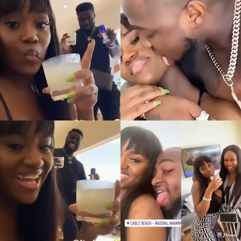 I MISS MY WIFE: Davido Threw Party For Chioma To Celebrate