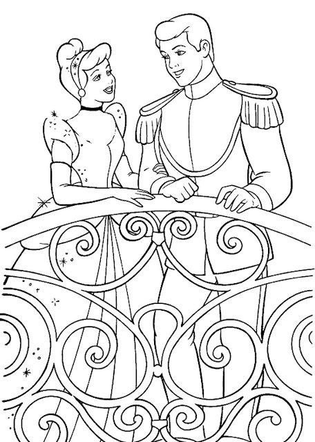tranh tô màu công chúa Disney 6