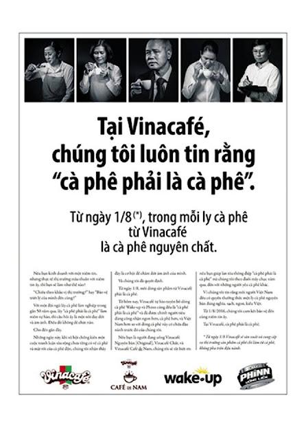 Thông điệp truyền thông của Vinacafe