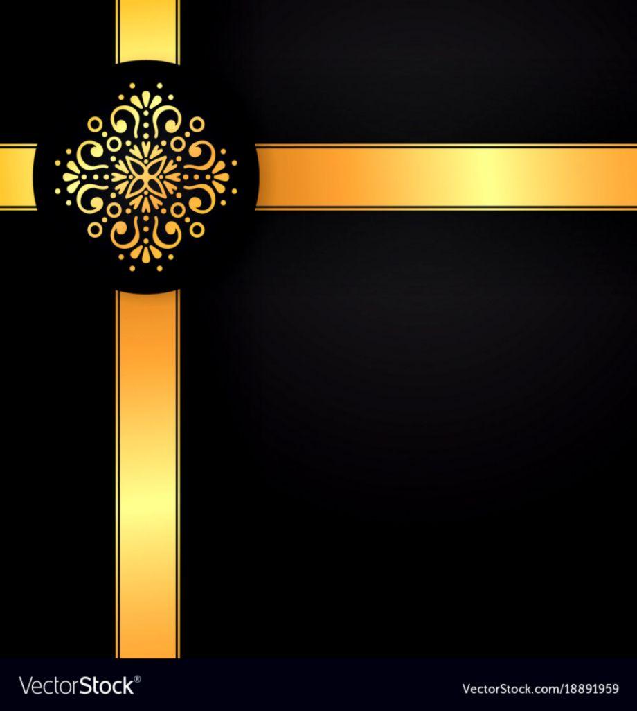 af07221a1f5 Gold black background design sun indian Royalty Free Vector