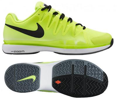 tenisová obuv NIKE ZOOM VAPOR 9.5. TOUR neonově žlutá