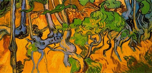 Arrels i troncs (Vincent van Gogh)