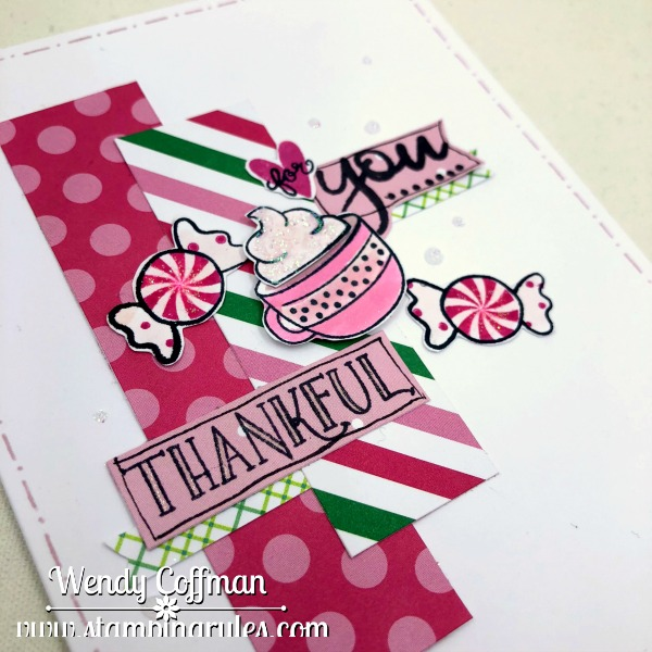 stamping rules thankful for you card