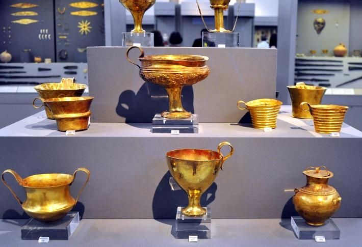 El Arte de la Orfebrería y Joyería : El Tesoro de Príamo y la máscara de  Agamenón.