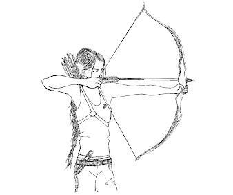 hunger games printable coloring pages | #7 The Hunger Games Coloring Page