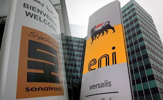 Eni e Sonatrach - Memorandum per fornitura e trasporto del gas
