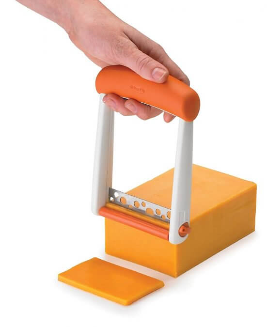 29 Life-Saving Kitchen Inventions We Wished We Had In Our Own House - Chef'n Slicester Cheese Slicer