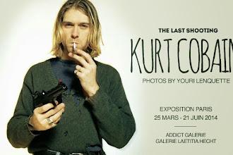 Expo : Kurt Cobain, The Last Shooting par Youri Lenquette - Addict Galerie - Jusqu'au 27 juin 2014