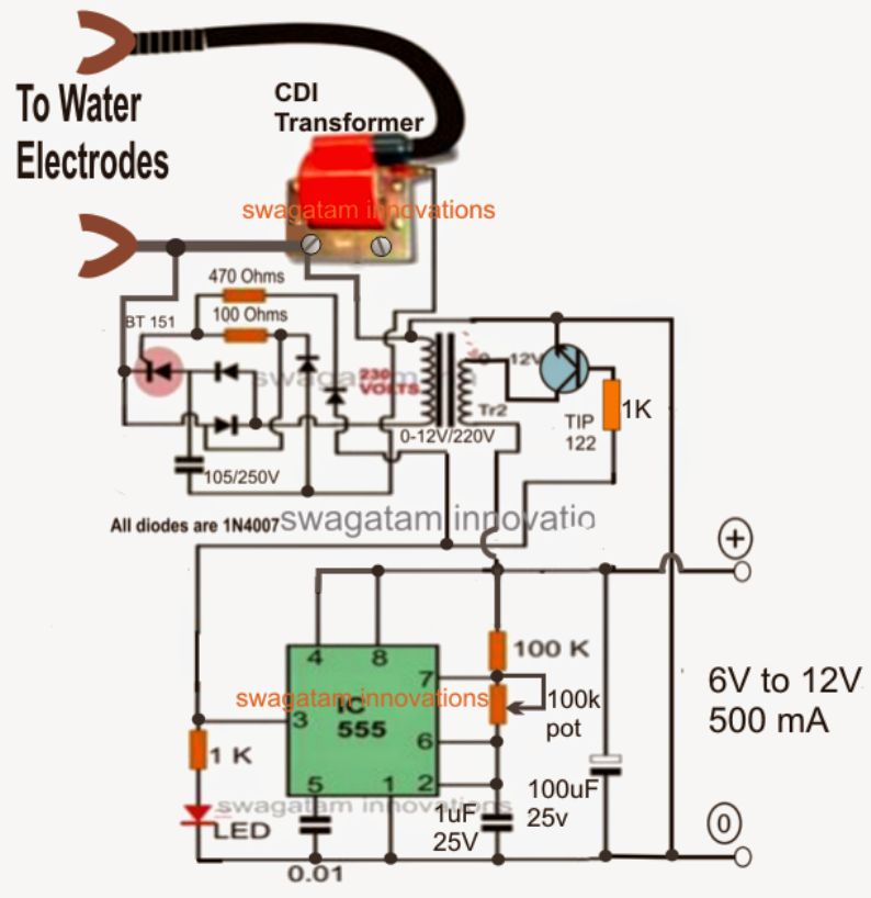 Pwm For Hho Circuit Diagram