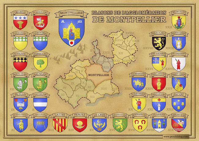 Armoirie de Montpellier