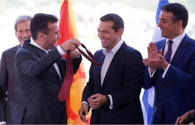 Πρέσπες: Η κίνηση Ζάεφ με την γραβάτα που αιφνιδίασε τον Τσίπρα! (video)