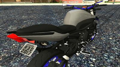 Yamaha XJ6 2012 para GTA San Andreas, GTA SA , Gta San