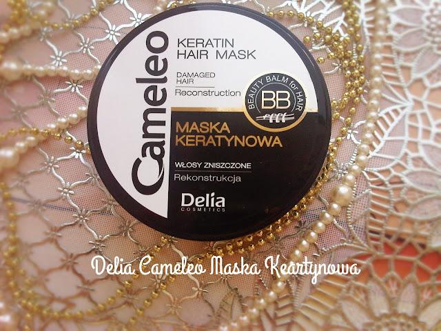 Delia Cameleo keratynowa maska do włosów