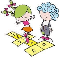 Desenhos Coloridos De Criancas Brincando
