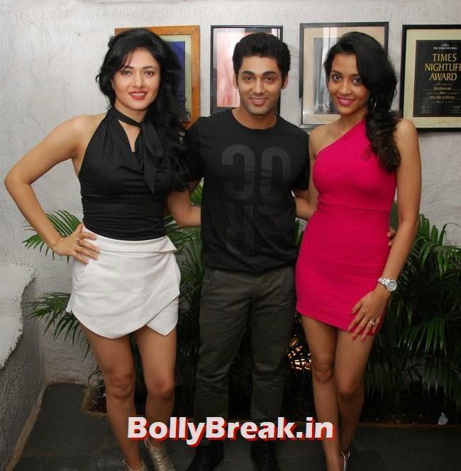 Sonal Sehgal, Ruslaan Mumtaz and Nirali, Jacqueline Fernandez at Sonal Sehgal Birthday Party