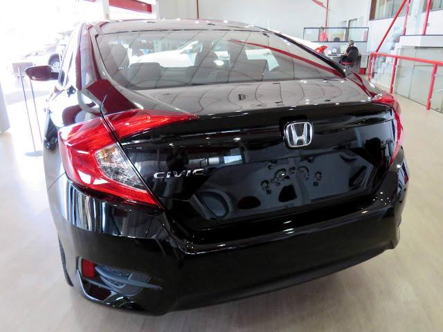 Novo Honda Civic 2017 (Geração 10)