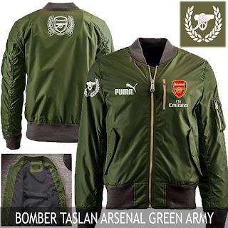 Jual Jaket Bomber Jokowi Pilot Arsenal Army