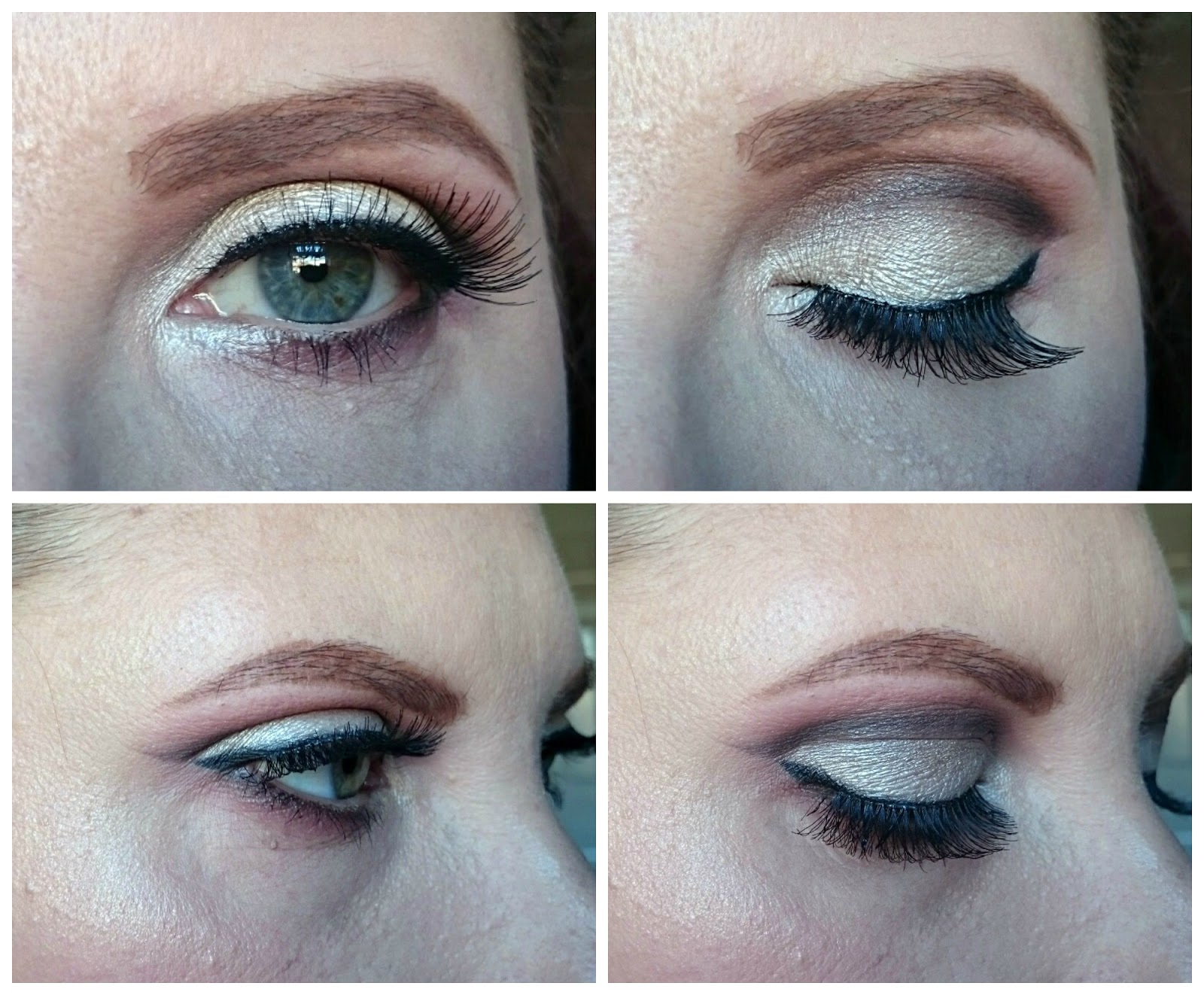 Soft cut crease makeup look