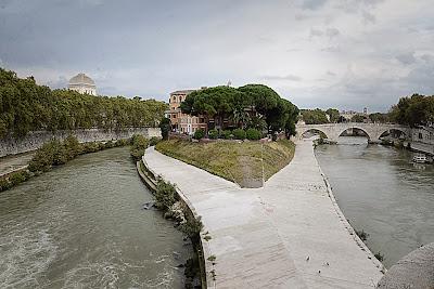 Ghetto di Roma: veduta sull'isola Tiberina