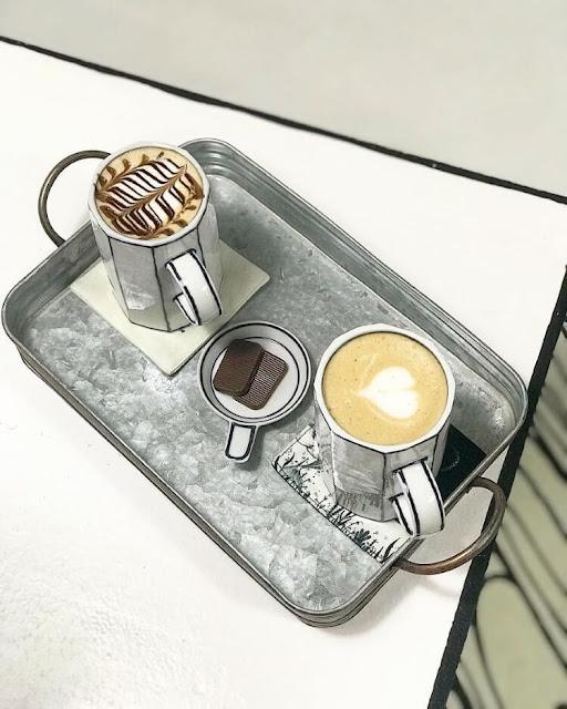 قهوة افلام الكرتون