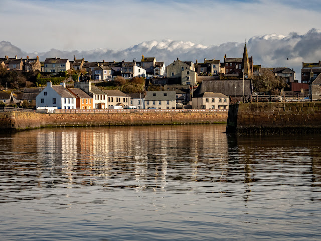 Photo of Maryport taken on our way out onto the Solway Firth on Tuesday
