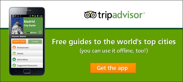 Guía móvil de Madrid en TripAdvisor