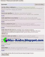 Internet Android Ngebut-Tweak Browser Chrome