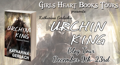 Blog Tour Badge Urchin King