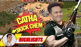 Catharian và trận đánh ghi danh sử sách của Chim Sẻ   AoE Highlights