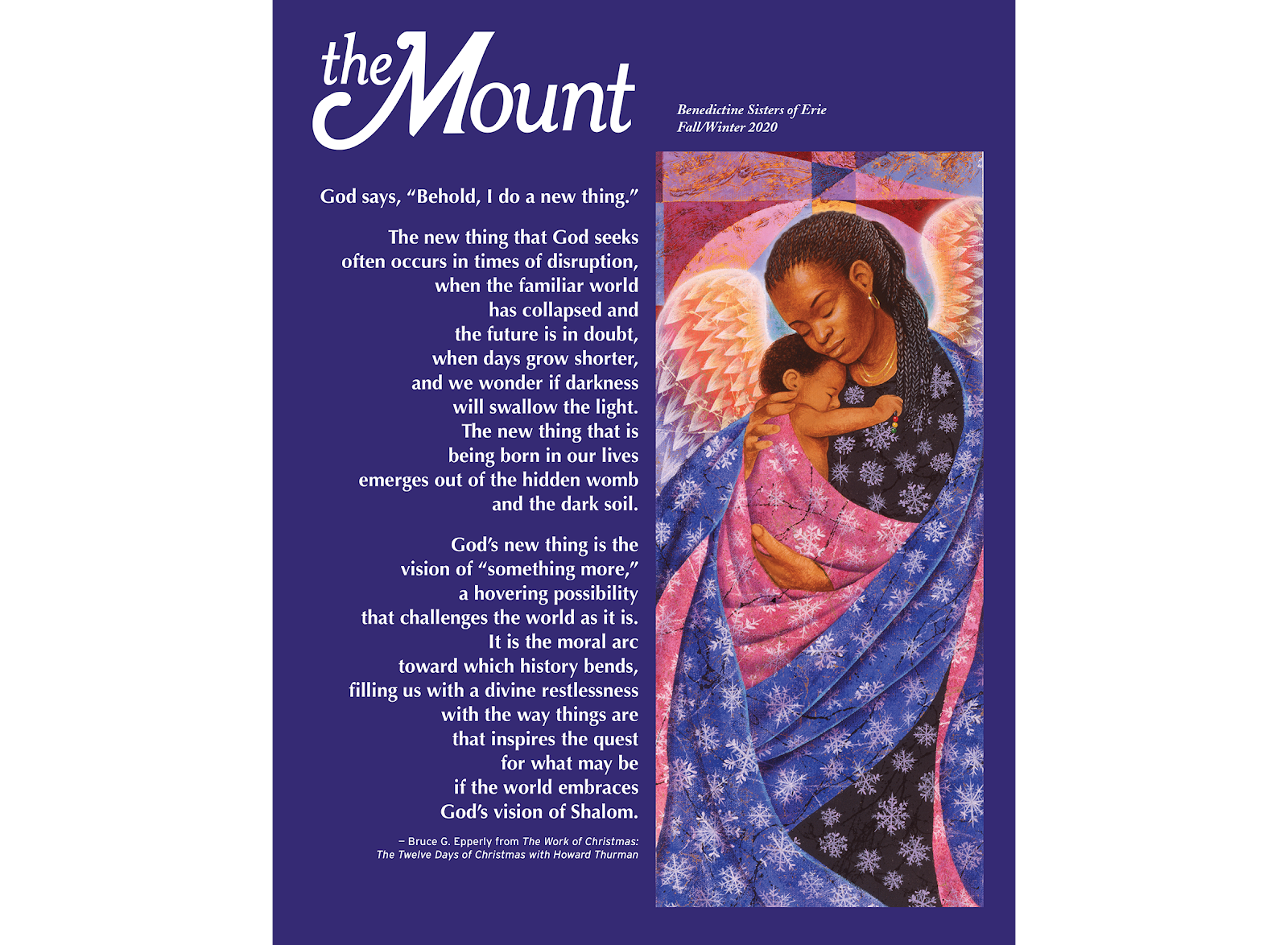 The Mount magazine