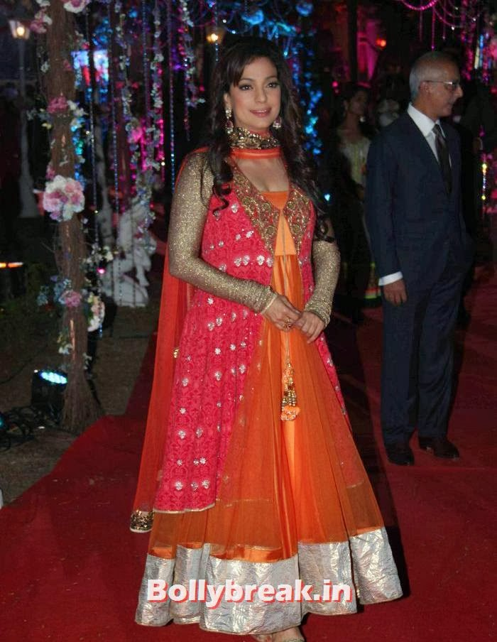 Juhi Chawla, Ahana Deol Wedding & Reception Pics